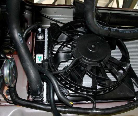 Repair of cooling system