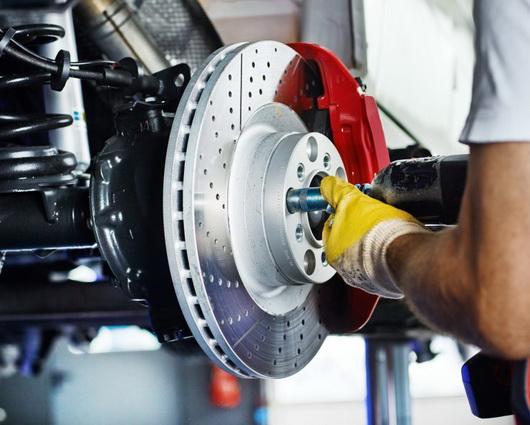 repair of brake system