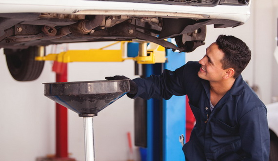 Advantages of express oil change