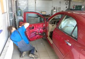 Post-warranty service in the car service Maximots 1