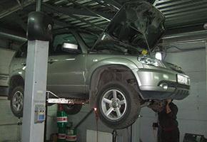 Post-warranty service in the car service Maximots 11