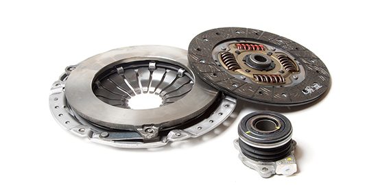 What does the clutch consist of