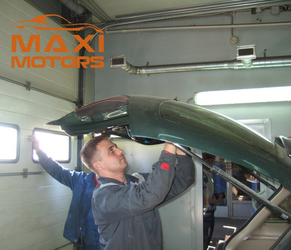 Car alarm installation in Maksymotors