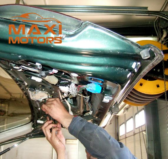 Repair of car alarm in Maksymotors
