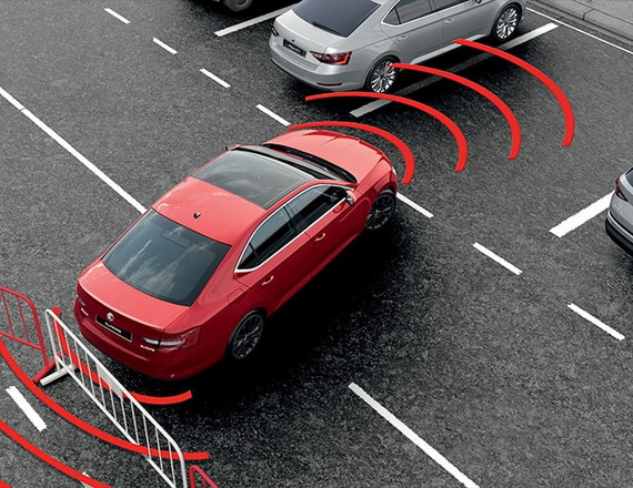 How does parking sensors work