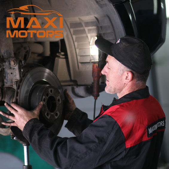 Replacement of brake pads and disks