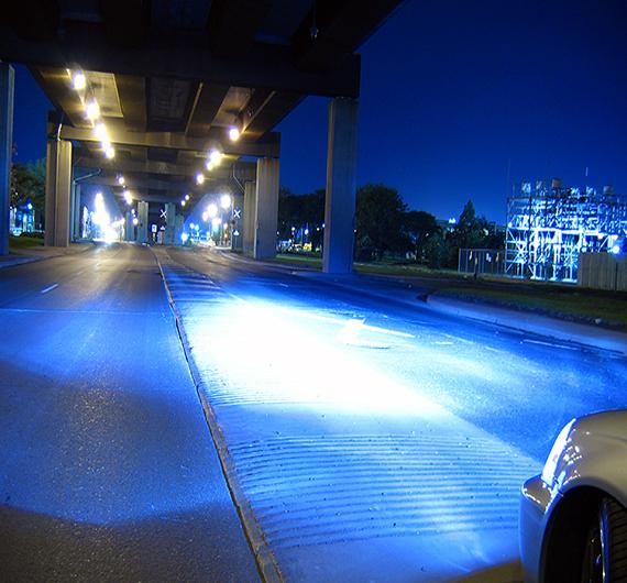 The advantage of xenon headlights