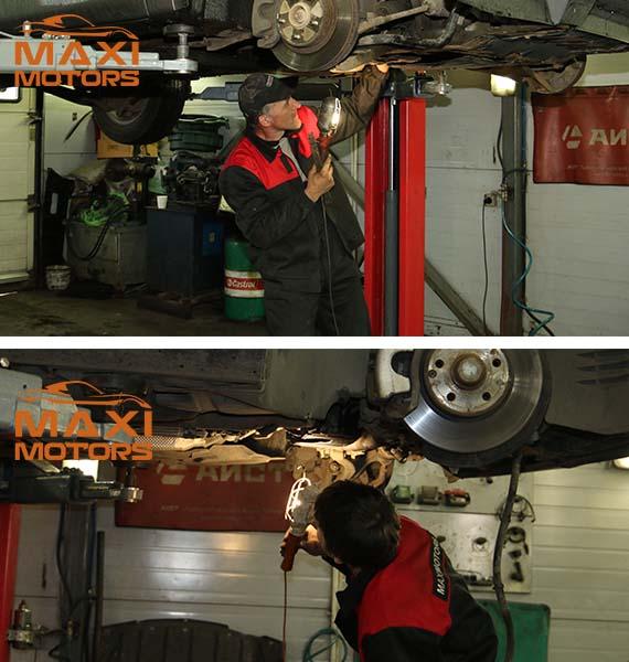 Inspection running MaxiMotors