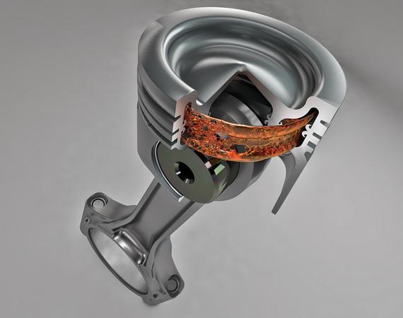 Descaling piston rings