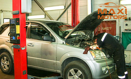 Repair of engines EP6 Maximotors
