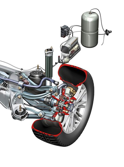 Ремонт и диагностика пневмоподвески Mercedes-Benz