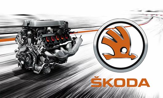 Ремонт двигателей автомобилей Skoda