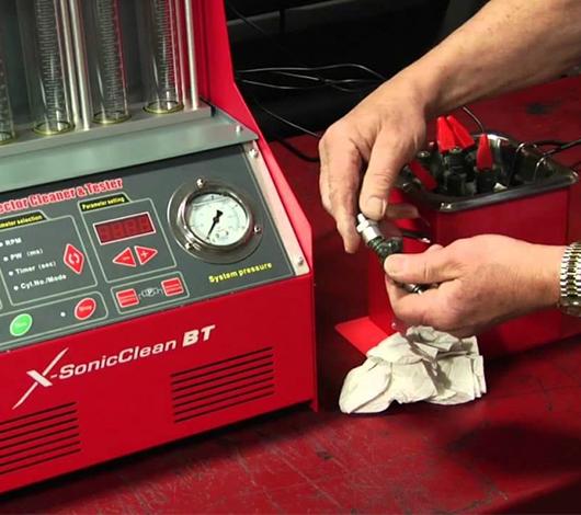 Стоимость промывки инжектора
