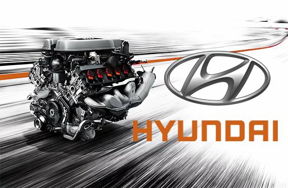 Ремонт двигателя Hyundai в Максимоторс