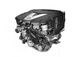 Ремонт двигателей V8 OM628O
